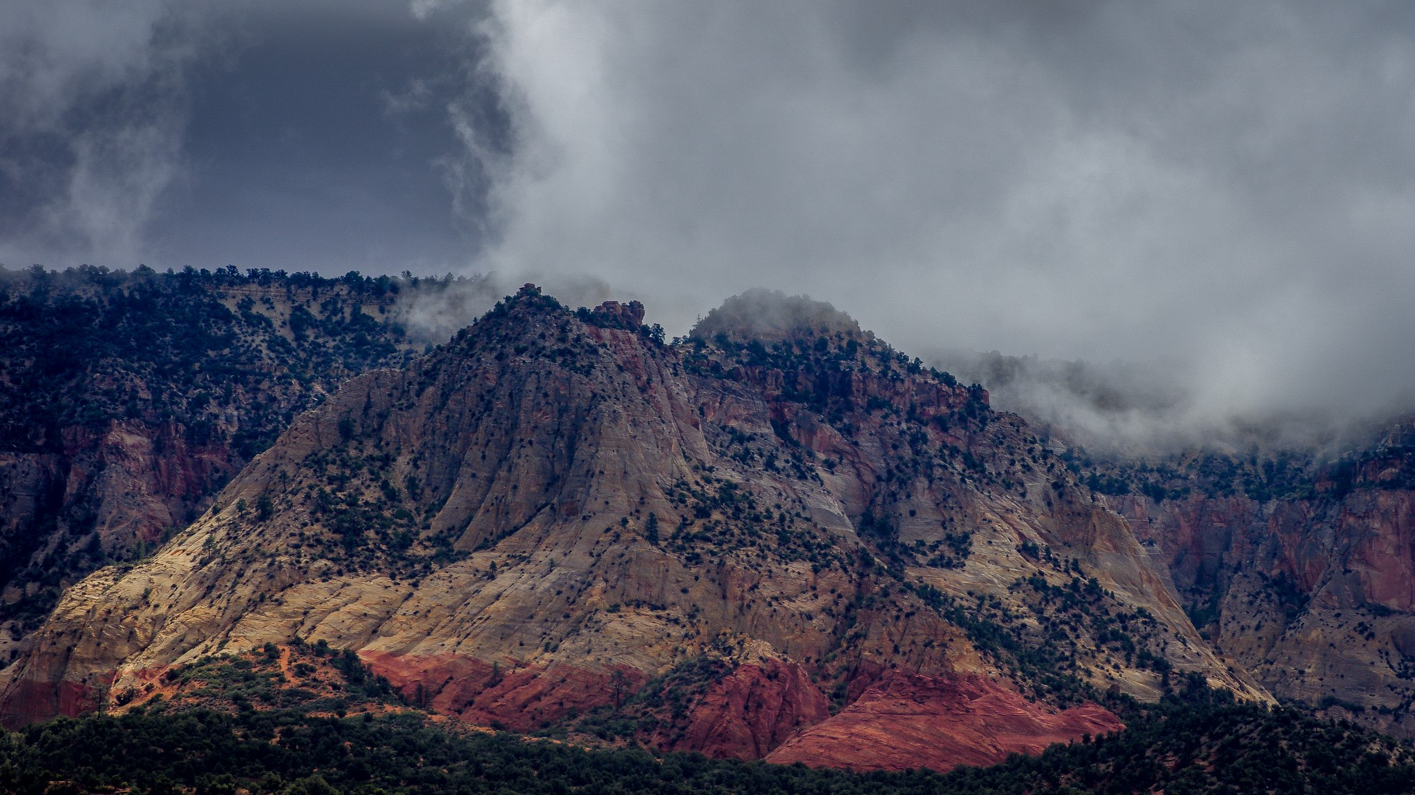 Storm At Mount Carmel, UT